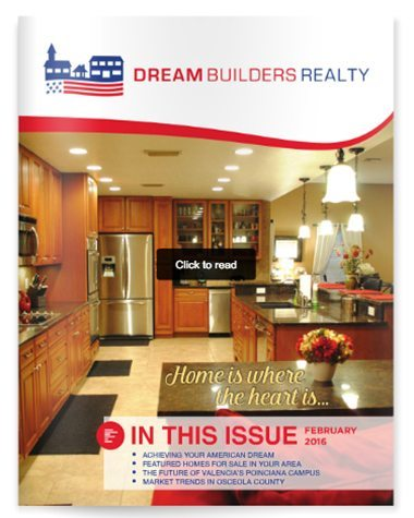Dream Builders Realty Real Estate Newsletter  Central Florida