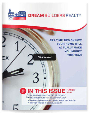 Osceola County Real Estate Newsletter March 2016