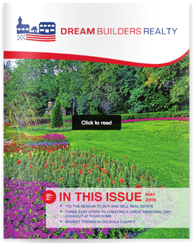 Dream Builders Realty May real estate newsletter