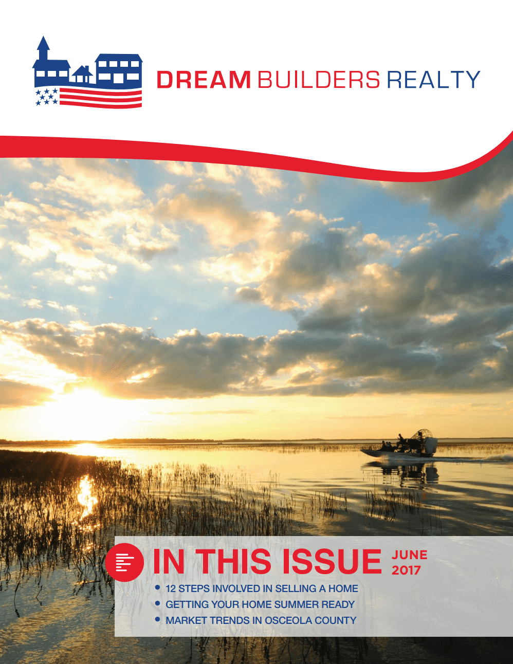 Dream Builders Realty June 2017 Newsletter
