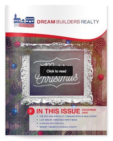 Osceola County Real Estate Newsletter - December 2015