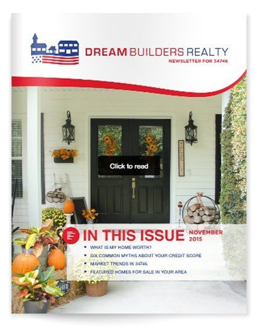 Osceola County Real Estate Newsletter - November 2015