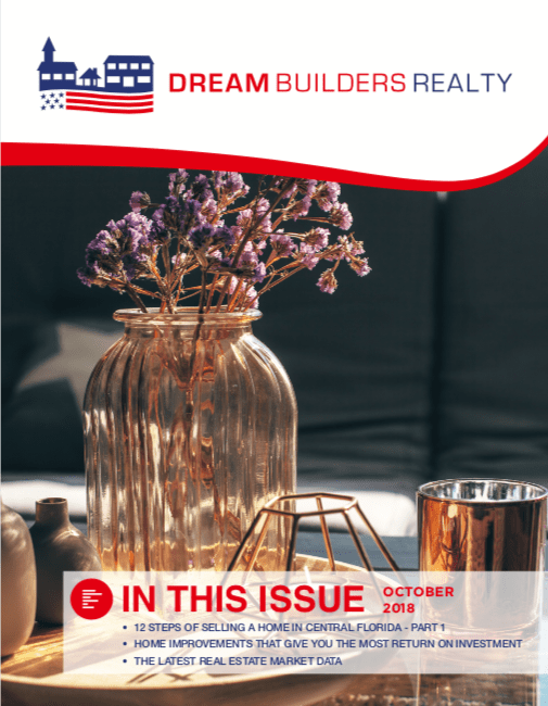 October 2018 Dream Builders Realty Newsletter
